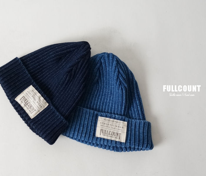f01dc6d276d INDIGO RIB WATCH CAP Indigo rib knit Cap made in Japan