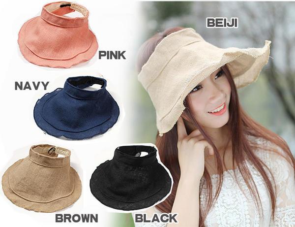 yizumi  UV cut ☆ foldable sun visor 567f0c0700b