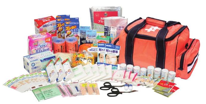救急セット50 備蓄 災害対策 防災 体温計欠品のため納期未定 体温計なしのセットの場合は納期約10日ほど