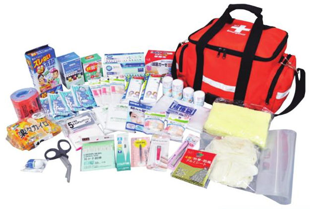 救急セット20 防災用品 防災グッズ 避難用品 災害対策 体温計欠品のため納期未定 体温計なしのセットの場合は納期約10日ほど