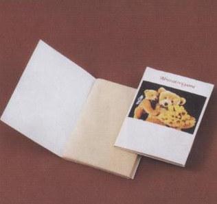 あぶらとり紙 クマのおやこP 150枚入(茶紙) ケース販売 まとめ買い 業務用 販促 ばらまき ノベルティ