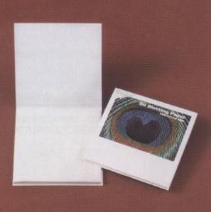 あぶらとり紙 クジャクP 150枚入(白紙) ケース販売 まとめ買い 業務用 販促 ばらまき ノベルティ