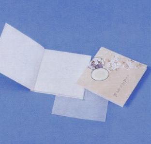 あぶらとり紙 鼓 つづみ  20枚入(白紙) ケース販売 まとめ買い 業務用 販促 ばらまき ノベルティ 粗品 記念品