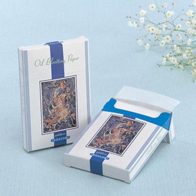 BOXタイプ天然あぶらとり紙 女神 500枚入(白紙) 02P03Dec16