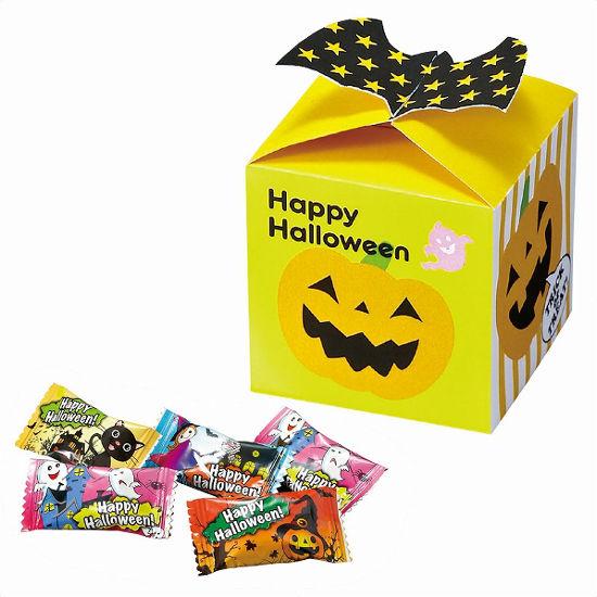 ハロウィンギフトBOX キャンディ5粒入 まとめ買い イベント 業務用 ばらまき ケース販売 粗品