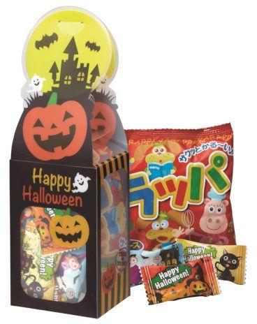 ハロウィンクリアケース お菓子入り まとめ買い イベント 業務用 ばらまき ケース販売 粗品