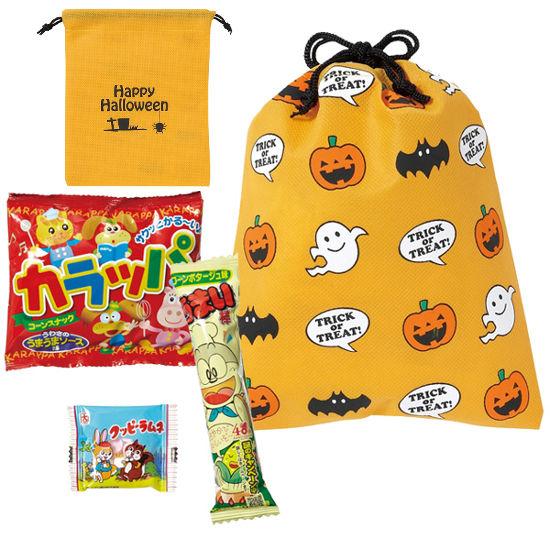 ハロウィン巾着おやつ3点セット まとめ買い イベント 業務用 ばらまき ケース販売 粗品