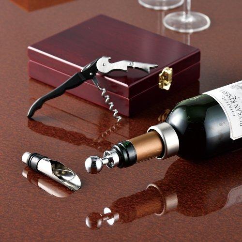 木箱入ワインツール4P ケース販売 まとめ買い 業務用 ノベルティ 粗品 記念品 販促 ばらまき 粗品