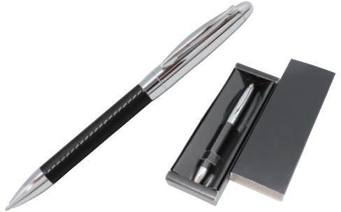 レザーグリップメタルボールペン ケース販売 まとめ買い 業務用 粗品 販促 ノベルティ 粗品 記念品 記念品