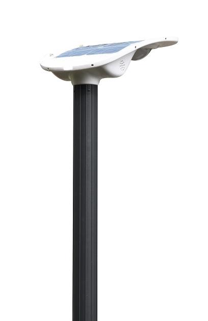 DS-solar 太陽光街灯 庭外灯 LED庭灯 リチュウムイオン電池 単結晶パネル18W、照明 工事簡単 LED街灯 代金引換不可  買い物マラソン