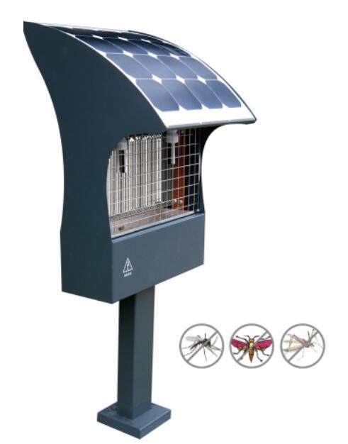 母の日 プレゼント DS-solar iGarden太陽光電撃殺虫器 精緻、典雅な視覚。電気代と配線は不要 鉛電池500Wh 単結晶パネル48W 工事簡単 代金引換不可 誕生日プレゼント ギフト 内祝い 出産祝い 結婚祝い