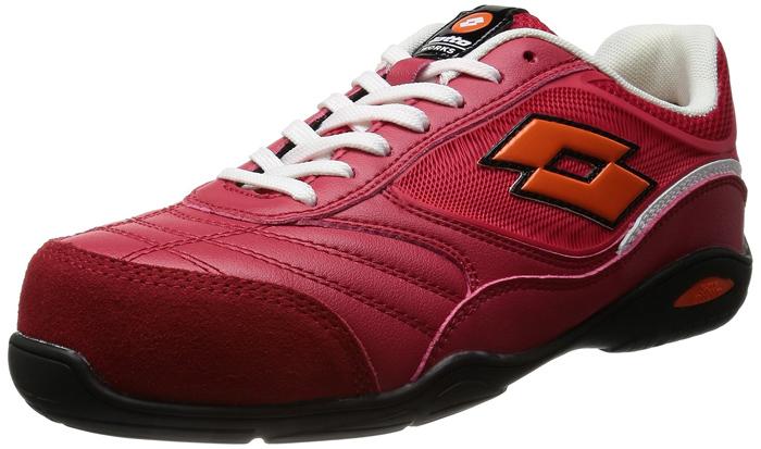 lotto WARKS(ロットワークス)ENERGYLQ2005 レッドイタリア ロット社のおしゃれな安全靴ISO20345ヨーロッパ基準のフルスペック設計【頑張って送料無料!】