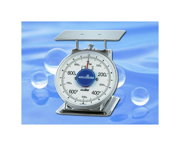 WORLDBOSS SAVI無い中型ステンレス製上皿自動秤 500g/1kg/2kg【頑張って送料無料!】