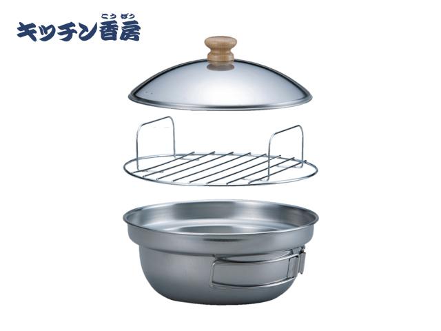 可以在索托富士燃燒器廚房香束與不銹鋼吸煙 ST 125 家族的氣體熏薰制! 薰制的乳酪培根就夠了!