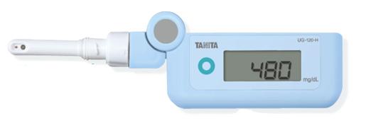 檢查日常血糖變得麻煩 ! 塔妮塔可擕式數位尿葡萄糖計機構設置 UG-201-H