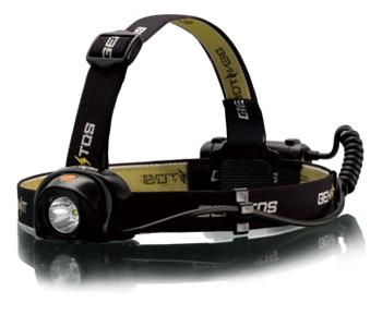 GENTOS(ジェントス) ヘッドウォーズプロフェッショナル HW-888H200ルーメン・照射距離約91m防滴仕様・テスト用電池・後部認識灯付き