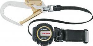 【頑張って送料無料!】タジマ(TJM) 安全帯L3R胴ベルトW付 ランヤード1400mm ベルト幅50mm×1300mm TA-L3R1