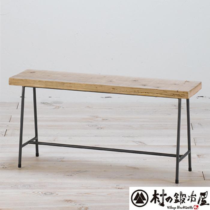 杉山製作所 KEBIN アイアンワークシャビーベンチC-2192日本製メーカー直送のため代引不可座面に古材を使用したベンチ!