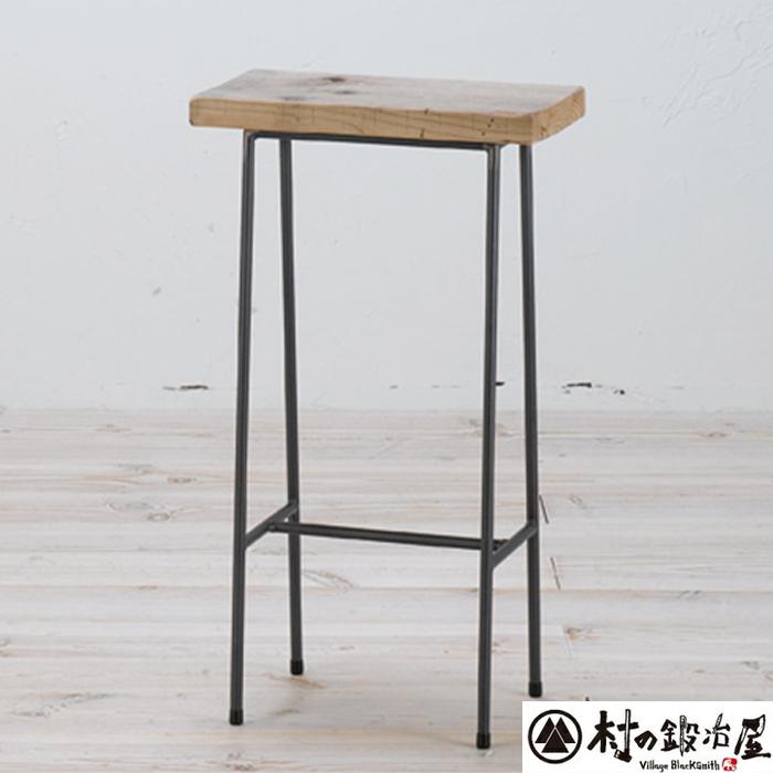 杉山製作所 KEBIN アイアンワークシャビーハイスツールC-2217日本製メーカー直送のため代引不可座面に古材を使用したスツール!