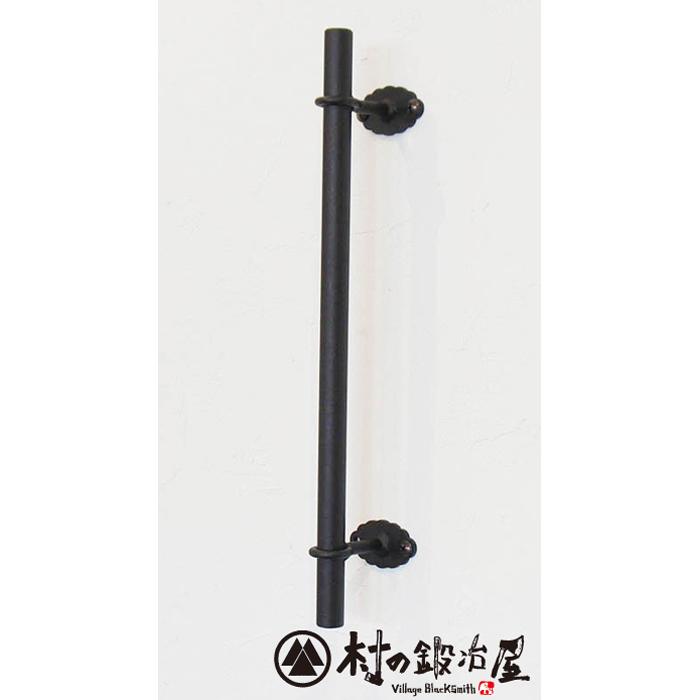 杉山製作所 FIT アイアンワークムクドアハンドルC片面タイプ600MUK-1455-S600SBサンドブラック塗装(防錆処理)タイプ高さ600mm日本製メーカー直送のため代引不可