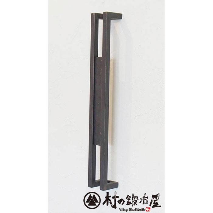 杉山製作所 FIT アイアンワークムクドアハンドルD片面タイプ600MUK-1456-S600PCLクリア塗装(防錆処理なし)タイプ高さ600mm日本製メーカー直送のため代引不可