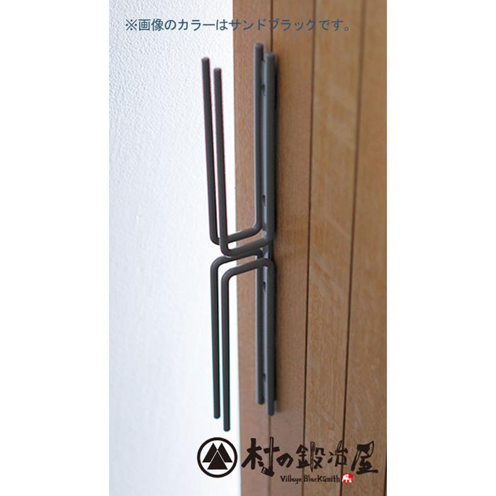 杉山製作所 nou アイアンワークMINAMI-W ドアハンドル クラウドグレーMUK-1402CG日本製メーカー直送のため代引不可