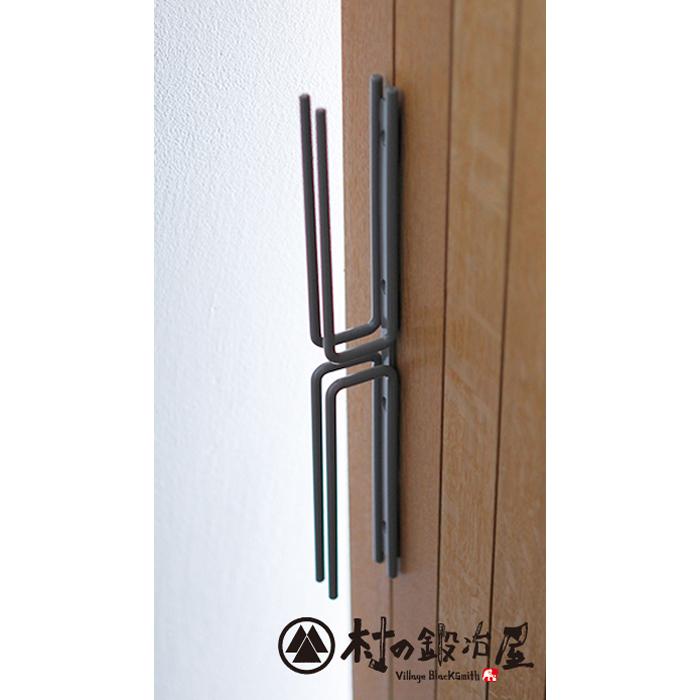 杉山製作所 nou アイアンワークMINAMI-W ドアハンドル サンドブラックーNOU-1402SB日本製メーカー直送のため代引不可