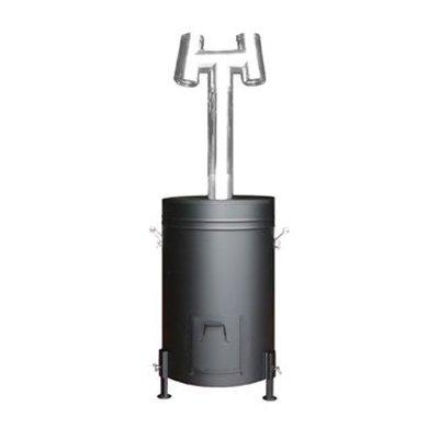 入荷しました! 燻炭工房(くんたんこうぼう) 容器型燻炭器 X0308 少々の風や雨でも安全にくん炭が作れます!