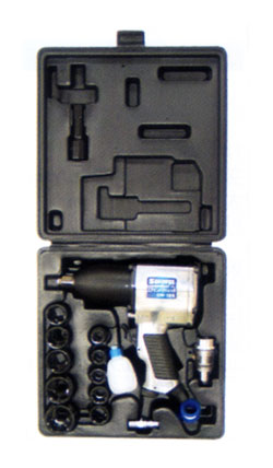 High-torque impact wrench set GW-18 K