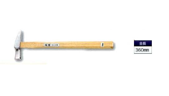 DOGYU(土牛) 大工用玄能 ステンレス舟手玄能 大(金鎚 ハンマー)φ33×360mm00339