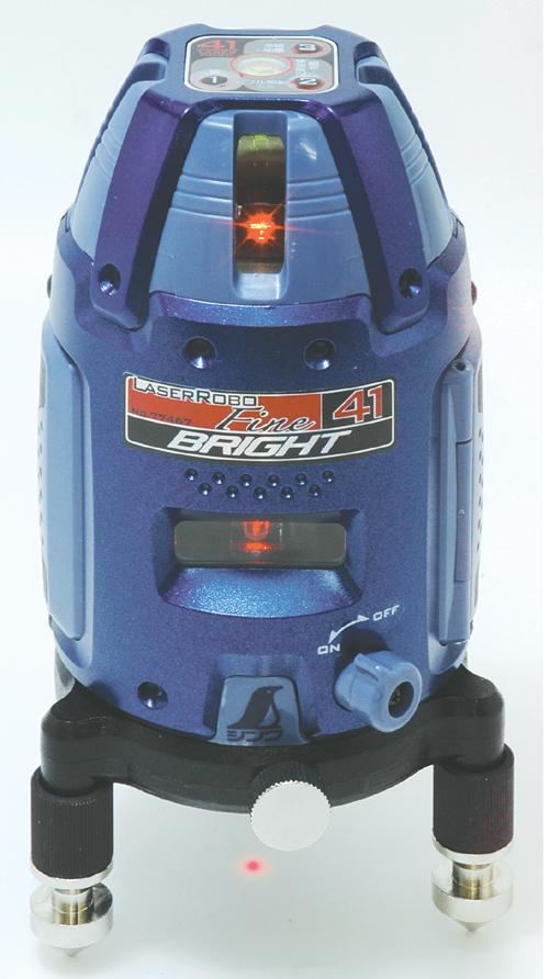 シンワ レーザー墨出し器 レーザーロボFine41 BRIGHT 77467縦・横・大矩・通り芯・地墨