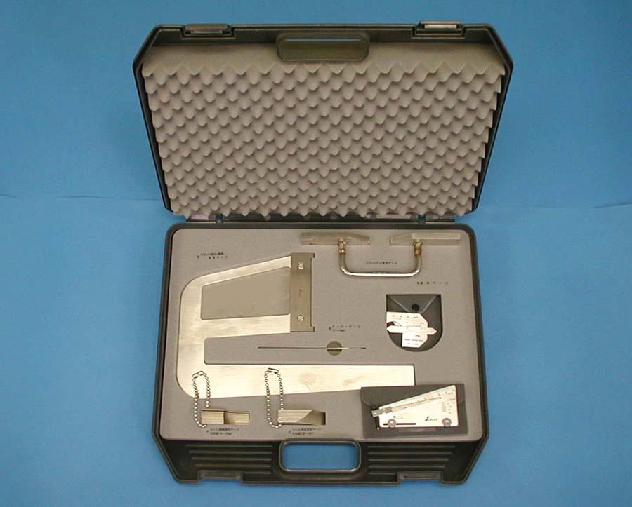 シンワ 鉄骨精度測定器具セット 97794