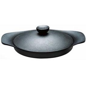 柳宗理 南部鉄器 グリルパン22cm 鉄ふた・ハンドル付