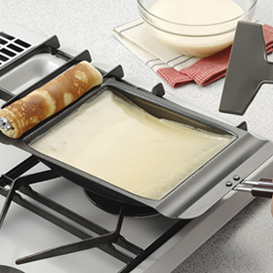 Introduced in a suit! At home, the Baumkuchen at Baumkuchen rolling pin 31588 gas stove!