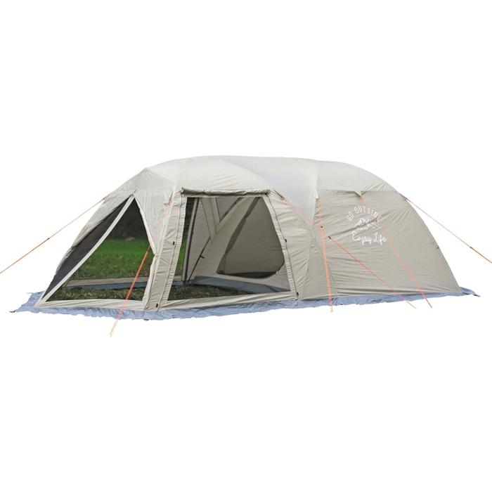 キャプテンスタッグ UA-0044 モンテ スクリーンツールームドームテント <5~6人用> アウトドア キャプスタ(約):280×620×H190cm