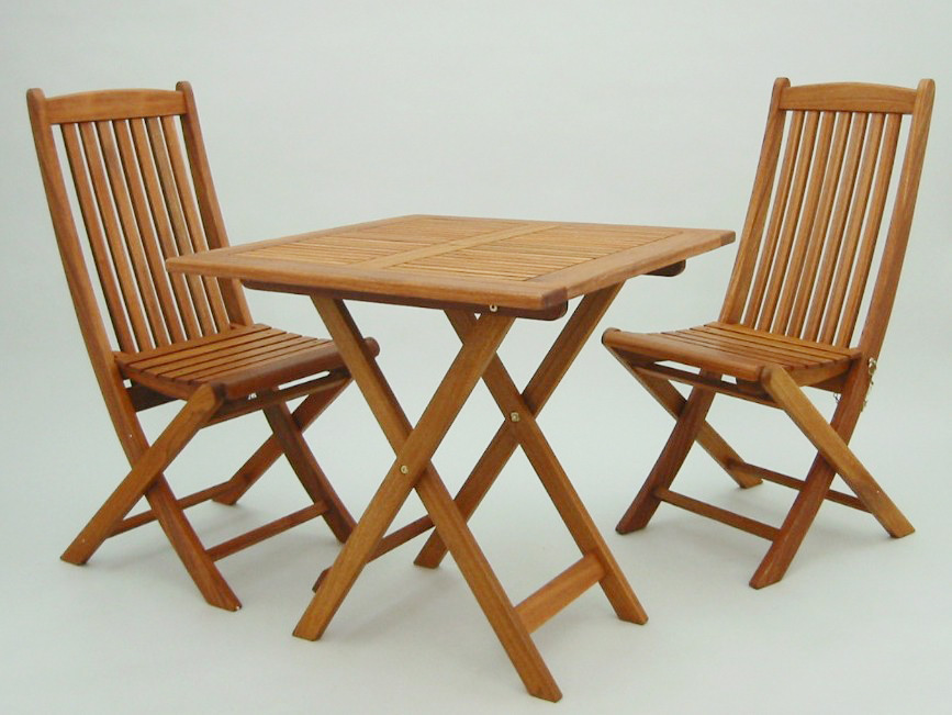 High Quality Wood Yellow Balau Garden Table 70 Cm 3 Point Set Chair With T 5 C 1 2 Manufacturer Direct 為代 Not Available