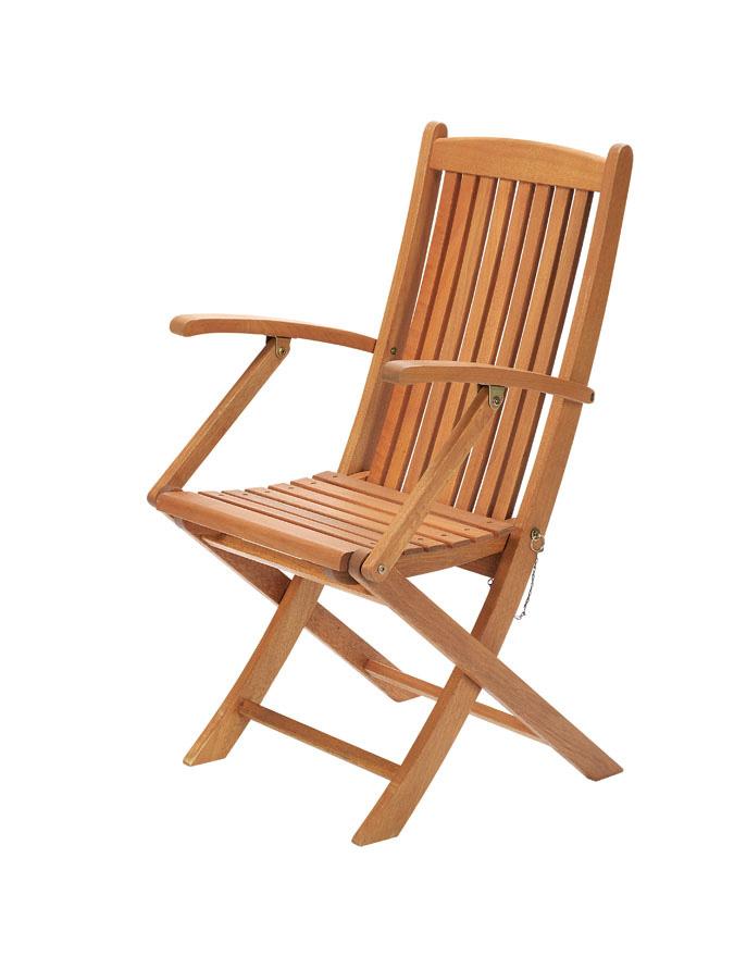 【頑張って送料無料!】高級木材 イエローバラウ材使用ガーデンステディアームチェア C-2メーカー直送の為代引き不可です