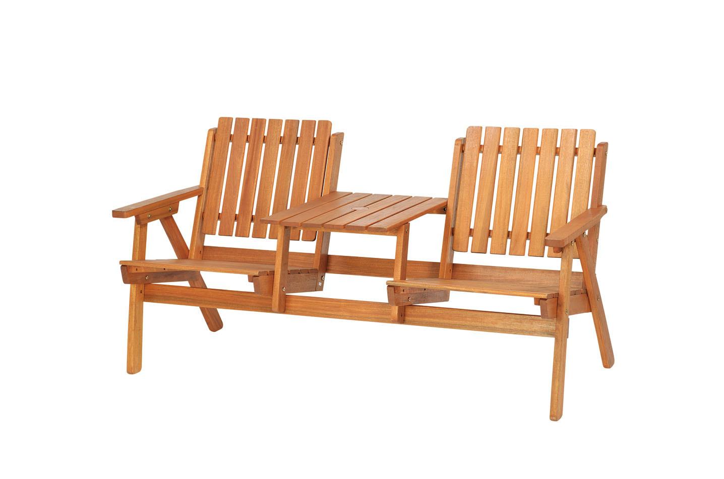 高級木材 イエローバラウ材使用ガーデンステディダブルチェア C-4メーカー直送の為代引き不可です【頑張って送料無料!】