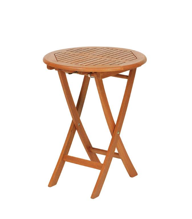 【頑張って送料無料!】高級木材 イエローバラウ材使用ガーデンステディテーブル ラウンド 55cm T-4メーカー直送の為代引き不可です