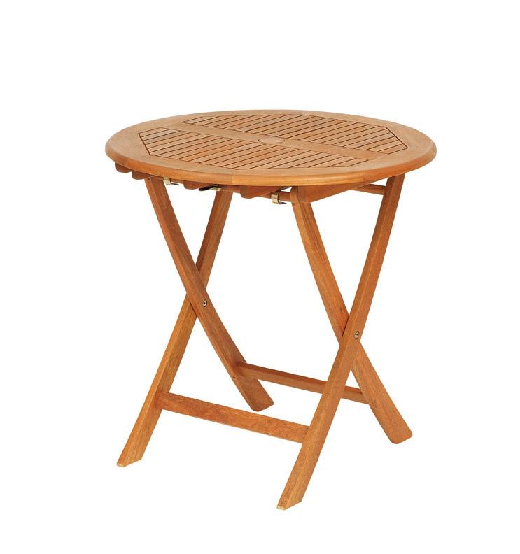 【頑張って送料無料!】高級木材 イエローバラウ材使用ガーデンステディテーブル ラウンド 70cm T-3メーカー直送の為代引き不可です