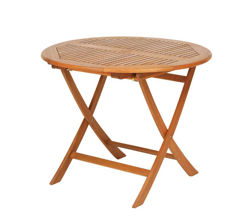 【頑張って送料無料!】高級木材 イエローバラウ材使用ガーデンステディテーブル ラウンド 90cm T-2メーカー直送の為代引き不可です