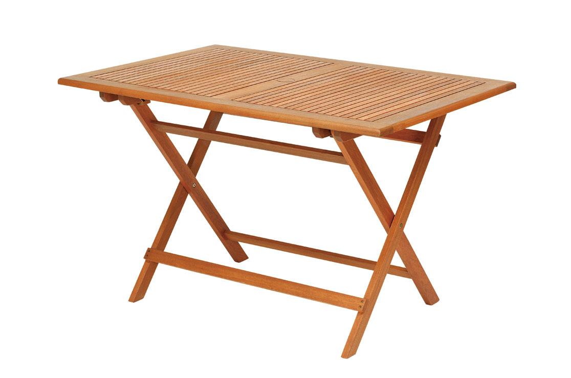 【頑張って送料無料!】高級木材 イエローバラウ材使用ガーデンレクタングルテーブル 120cm T-7メーカー直送の為代引き不可です