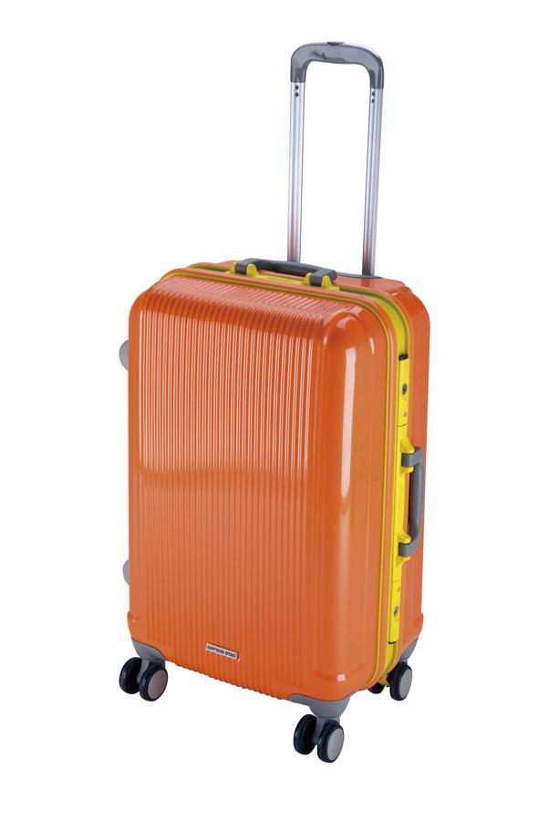 キャプテンスタッググレル トラベルスーツケース(TSAロック付きHFタイプ)(M)(サンセットオレンジ) UV-20全世界の空港で使えます!もちろんTSAロックのアメリカも!