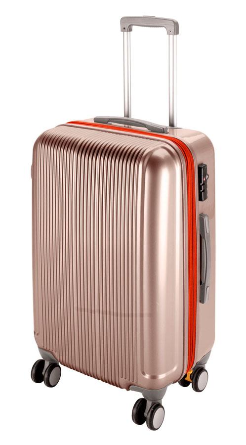 キャプテンスタッググレル トラベルスーツケース(TSAロック付きWFタイプ)(M)(シャンパンベージュ) UV-23全世界の空港で使えます!もちろんTSAロックのアメリカも!