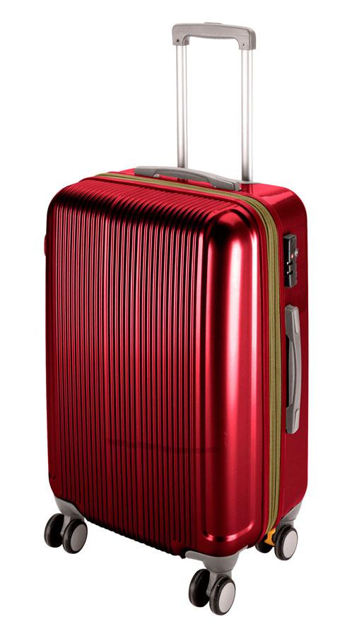 キャプテンスタッググレル トラベルスーツケース(TSAロック付きWFタイプ)(M)(ワインレッド) UV-26全世界の空港で使えます!もちろんTSAロックのアメリカも!