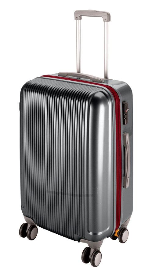 キャプテンスタッググレル トラベルスーツケース(TSAロック付きWFタイプ)(M)(スチールグレー) UV-29全世界の空港で使えます!もちろんTSAロックのアメリカも!