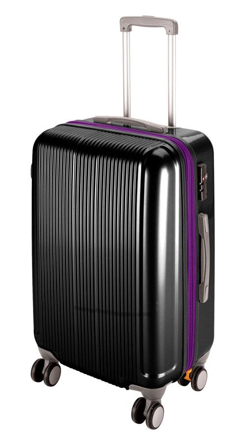 キャプテンスタッググレル トラベルスーツケース(TSAロック付きWFタイプ)(M)(ブラック) UV-32全世界の空港で使えます!もちろんTSAロックのアメリカも!