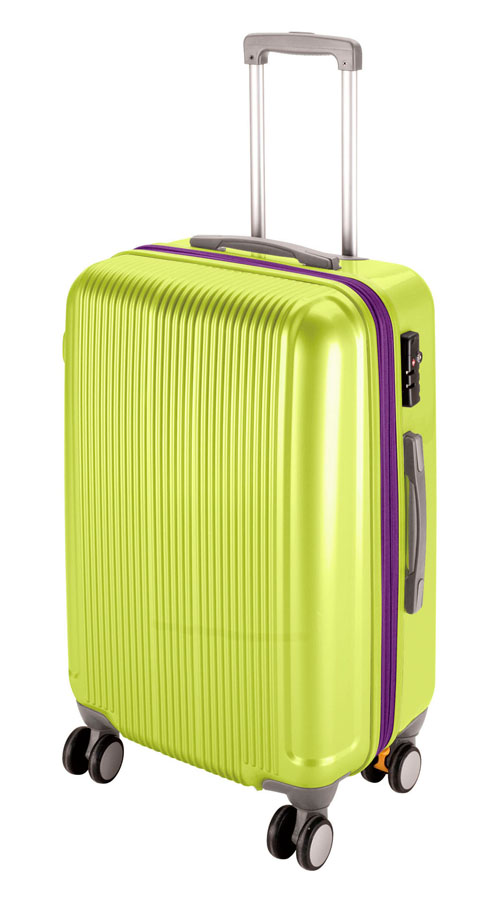 キャプテンスタッググレル トラベルスーツケース(TSAロック付きWFタイプ)(M)(アップルグリーン) UV-35全世界の空港で使えます!もちろんTSAロックのアメリカも!