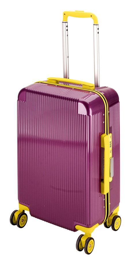 キャプテンスタッグシック トラベルスーツケース(TSAロック付きコンパクトタイプ)(レッドアップル) UV-43全世界の空港で使えます!もちろんTSAロックのアメリカも!