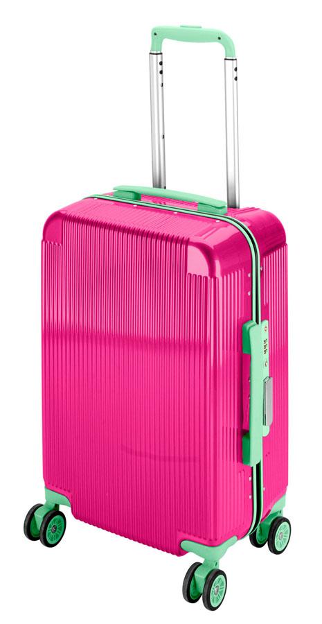 キャプテンスタッグシック トラベルスーツケース(TSAロック付きコンパクトタイプ)(ローズピンク) UV-46全世界の空港で使えます!もちろんTSAロックのアメリカも!